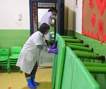 广州幼儿园保洁员工作流程