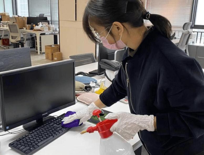 广州办公楼保洁公司:如何进行日常消毒清洁